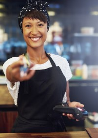 Coffee Shop Owner - Electronic Payment Systems